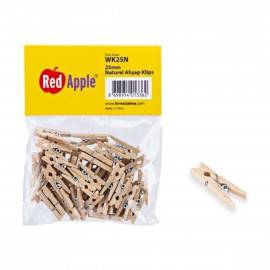 R.APPLE MANDAL NATUREL 25MM WK25N*432